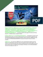 Prediksi Arsenal Fc vs Tottenham Hotspur Fc 2 Desember 2018