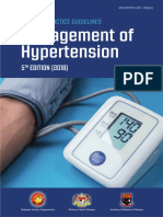 CPG Management of Hypertension (5th Edition)