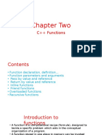 Ch 2 Function