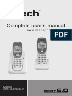 Vtech Dect 6 0 Cs6114 Users Manual 110286