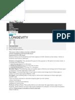 Longetivity