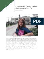 Poemas en Quechua y Castellano de La Peruana Nora Alarcón