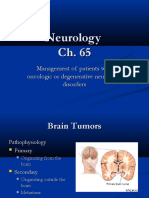 Management of Patients With Oncologic or Degenerative Neurologic Disorders