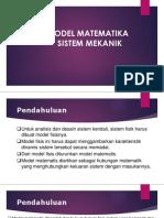 Kulah Model Matematik