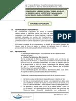 1) Informe Topografico