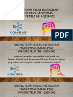 PALING TOP!!! KELAS INSTAGRAM MARKETING BANYUMASWA/SMS/TELP 0811-2829-002