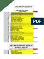 INGRESANTES Ciclo1 EPG 2016 y Profesores