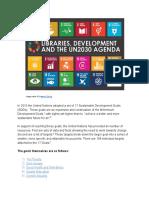 Directors Brief on UN Sustainable Dev Goals