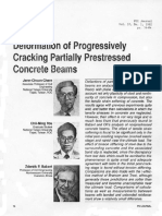 Ductility of Prestressed and Partially Prestressed Concrete Beam Sections_thompson & Park