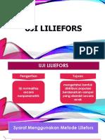 Uji Liliefors