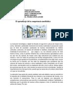 El Aprendizaje de La Competencia Mediática Articulo Del Seminario de Lenguaje y Comunicacion Maestria