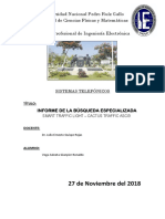 Informe de La Busqueda Especializada