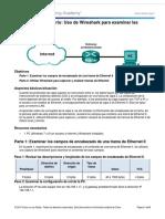 5.1.1.7 Lab - Using Wireshark to Examine Ethernet Frames.docx