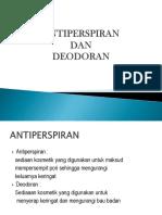 antiprespiran
