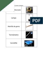Especificaciones de Equipos y Materiales para el ensayo de rotura de probetas de concreto