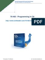 Certleader 70-483 Exam Questions Materials