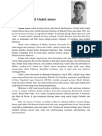 Biografi Chairil Anwar