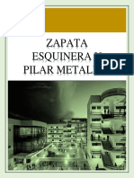 Zapata y Pilar Metalico f.
