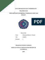 Praktikum Farmakologi Dan Toksikologi 3