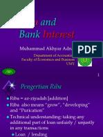 15395_6. Riba and Bank Interest