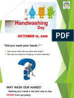 Global Handwashing Day 2018 Powerpoint Presentation
