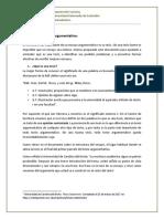 8. La Tesis en El Ensayo Argumentativo.
