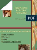 Komplikasi Robekan Perineum Final (Lilis)