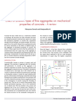Effect of different types of fine aggregates on mechanical properties of concrete - A review.pdf