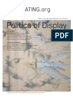 ONCURATING_Issue22 Politics of Display