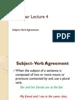 Grammar Lecture 4