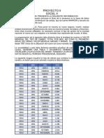 Proyecto II Excel