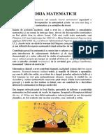 1.Istoria matematicii