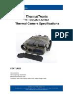 ThermalTronix TT 1930AMS NVBM Datasheet