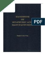 sulphuric acid manufacturing process pdf