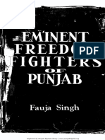 Eminent.Freedom.Fighters.of.Punjab.by.Fauja.Singh.(GurmatVeechar.com).pdf