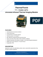 ThermalTronix TT 1780BD MPS Datasheet - THERMOGRAPHIC MODULES