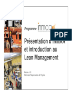 1.01 - Introduction d'Inmaa Et Introduction Au Lean Management