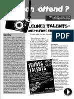 Keskon Attend Jeunes Talents 2011