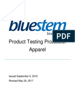 Bluestem Product Testing Protocols Apparel