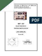 EET027 Manual