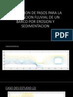 Simulacion de Pasos Para La Navegacion Fluvial De