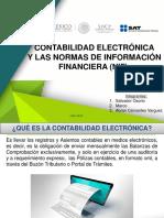 Contabilidad Electronica y Las NIF