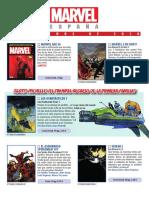 Catalogo Marvel Diciembre 2018