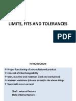 3-Limits Fits and Tolerances