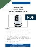 ThermalTronix TT 1007D MARINE Datasheet - SECURITY SYSTEMS