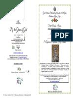 2018-3 Dec- Vespers - St Zephaniah-sophronios Holy Prophet