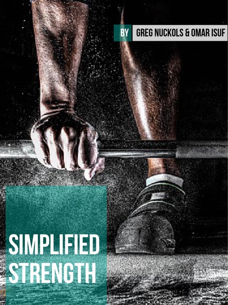 376283338-Greg-Nuckols-Simplified-Strength pdf | Stress