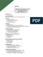 2005 Biologie Nationala Subiecte Clasa a X-A 0