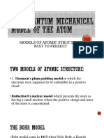 Models of Atomic Structure