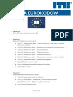 Lista Eurokodów